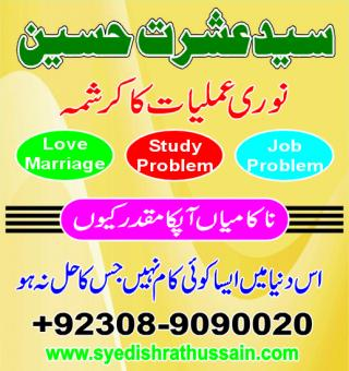Love Marriage Specialist Astrologer, SYED ISHRAT HUSSAIN,+923089090020